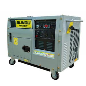 6kVA - Single Phase Silent Petrol Generator - BP6500SP